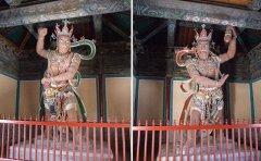佛教中守护庙门的两位力士是谁?